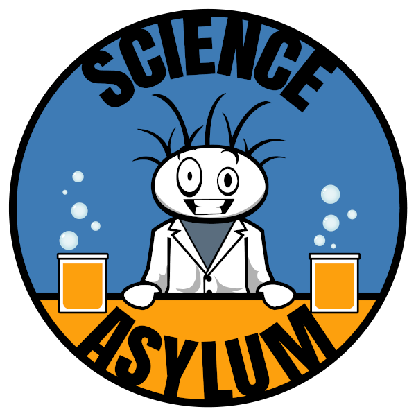 Science Asylum logo.